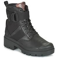 Chaussures Femme Boots Palladium PALLABASE TACT STR L Noir