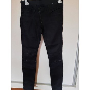 Vêtements Femme Jeans slim G-Star Raw Jeans Gstar noir enduit Noir