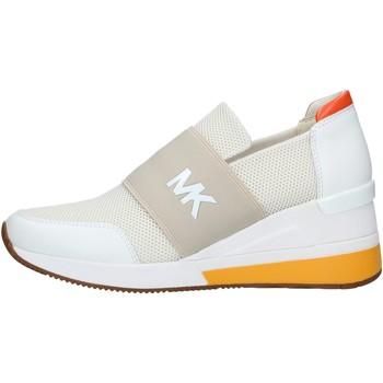 Chaussures Femme Slip ons MICHAEL Michael Kors 43S1FXFS3D BASKETS femme CRÈME CRÈME