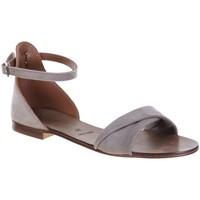 Chaussures Femme Sandales et Nu-pieds Champ De Fleurs 04ZARA Taupe