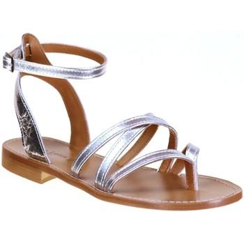 Chaussures Femme Sacs de voyage Donna Lucca 1230 Argent