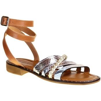 Chaussures Femme Sacs de voyage Donna Lucca 1268 Camel