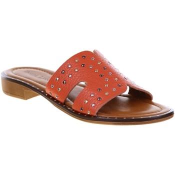 Chaussures Femme Mules Donna Lucca 1246 Orange