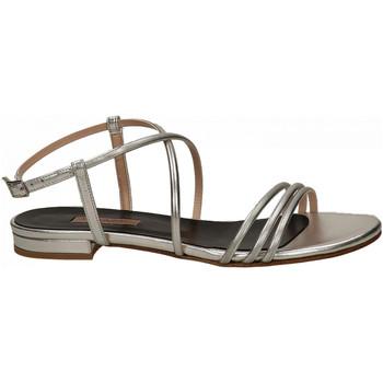 Chaussures Femme Sandales et Nu-pieds Albano MET argento