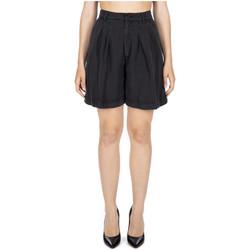 Vêtements Femme Shorts / Bermudas Department Five KANANA SHORT C/PENCES cc999-nero