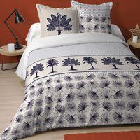 Maison & Déco Parures de lit Zen Et Ethnique Parure de lit Chypre 260 x 240 cm Beige