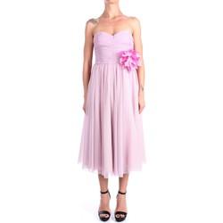 Vêtements Femme Robes longues Hanita H.V2816.3126 Veau Femme Rose Rose