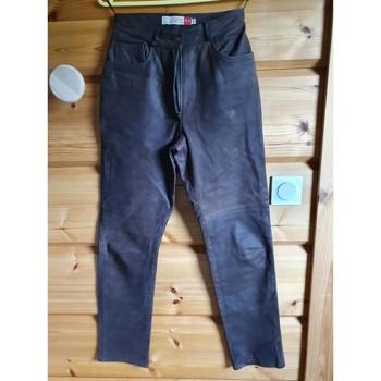 Vêtements Femme Pantalons 5 poches Chevignon Pantalon cuir femme Autres