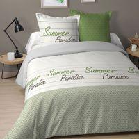 Maison & Déco Parures de lit Esprit Nordique Parure de lit Paradise 220 x 240 cm Blanc