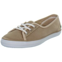Chaussures Femme Baskets basses Lacoste Baskets femme  Ziane Chunky ref_43626 Or Doré