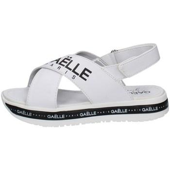 Chaussures Fille Sandales et Nu-pieds GaËlle Paris G-821 BLANC