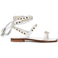 Chaussures Femme Sandales et Nu-pieds Café Noir C1GN1050 BIANCO