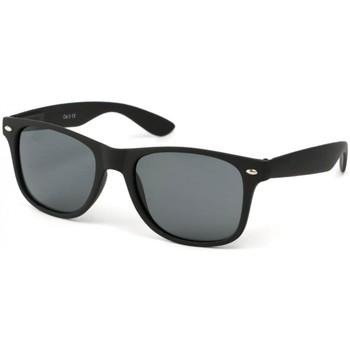 Montres & Bijoux Lunettes de soleil Eye Wear Lunettes Polarisante Europe avec monture noire Noir