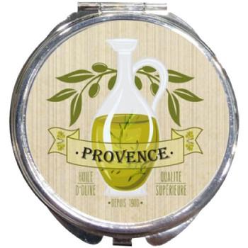 Maison & Déco Paniers, boites et corbeilles Provence Boite à pilules Olive Beige