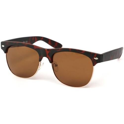 Lunettes de soleil Eye Wear Lunettes Polarisante Call Me avec monture marron Marron 350x350