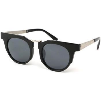 Montres & Bijoux Lunettes de soleil Eye Wear Lunettes Soleil Luka avec monture Noire Noir