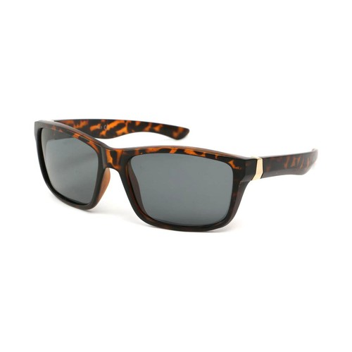 Montres & Bijoux Lunettes de soleil Eye Wear Lunettes Polarisante Number avec monture Marron Marron
