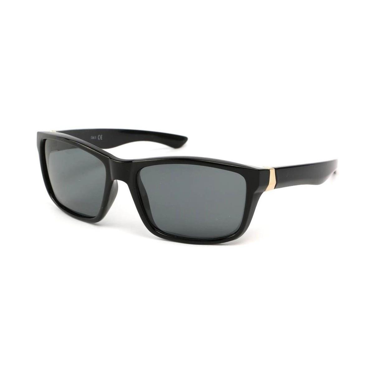 Eye Wear Lunettes Polarisante Number avec monture Noire Noir