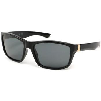 Lunettes de soleil Eye Wear Lunettes Polarisante Number avec monture Noire Noir 350x350