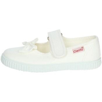 Chaussures Fille Ballerines / babies Cienta 56060 Blanc