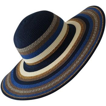 Accessoires textile Femme Chapeaux Chapeau-Tendance Chapeau capeline SAMES Bleu