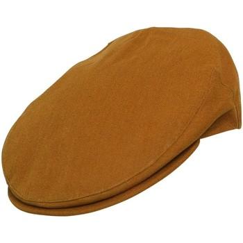 Accessoires textile Homme Casquettes Chapeau-Tendance Casquette plate ITALIE T55 Moutarde