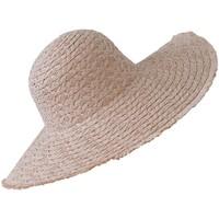 Accessoires textile Femme Chapeaux Chapeau-Tendance Chapeau capeline IRIS Rose perle