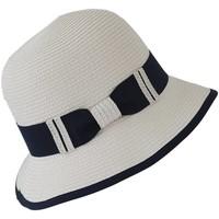 Accessoires textile Femme Chapeaux Chapeau-Tendance Chapeau cloche CHARLINE Blanc
