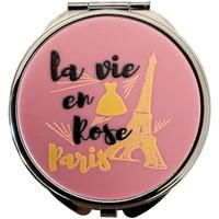 Maison & Déco Paniers, boites et corbeilles Paris Boite à pilules La vie en rose Rose
