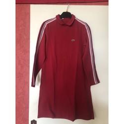 Vêtements Fille Robes courtes Lacoste Robe Lacoste Bordeaux