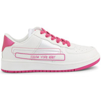 Chaussures Fille Baskets basses Shone - 17122-021 Blanc