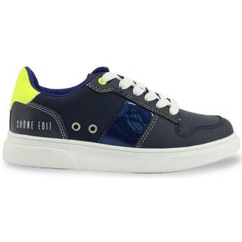 Chaussures Garçon Baskets basses Shone - s8015-013 Bleu