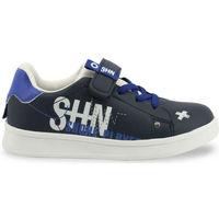 Chaussures Garçon Baskets basses Shone - 208-116 Bleu