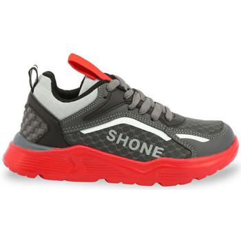 Chaussures Garçon Baskets basses Shone - 903-001 Gris