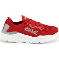 Chaussures Enfant Baskets basses Shone - 155-001 Rouge