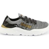 Chaussures Garçon Baskets basses Shone - 155-001 Gris