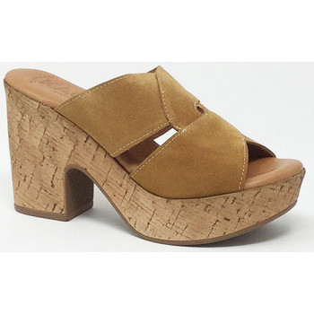 Chaussures Femme Mules Kaola SANDALE WHISKY Beige