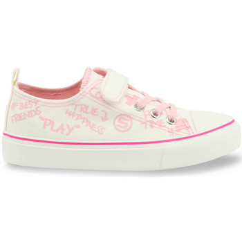 Chaussures Fille Baskets basses Shone - 291-002 Blanc