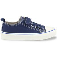 Chaussures Garçon Baskets basses Shone - 291-002 Bleu