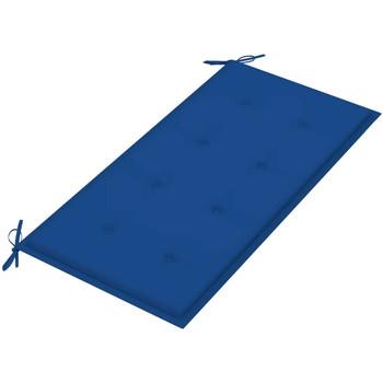 Maison & Déco Coussins Vidaxl Coussin de banc 100 x 50 x 4 cm Bleu