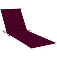 Maison & Déco Coussins Vidaxl Coussin de chaise longue 200 x 60 x 4 cm Rouge