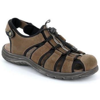 Chaussures Homme Sandales et Nu-pieds Grunland SANDALE FERMÉE GRÜNLAND - TONY SA0515 AMANDE Marron