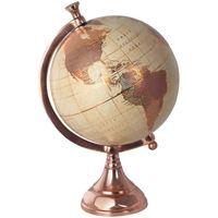 Maison & Déco Statuettes et figurines Signes Grimalt Carte Du Monde Golden Globe Marrón