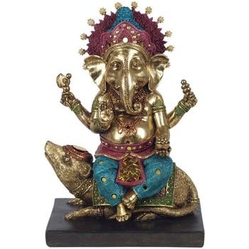 Maison & Déco Statuettes et figurines Signes Grimalt Ganesha Dorado