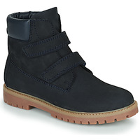 Chaussures Garçon Boots Citrouille et Compagnie PAXA Bleu