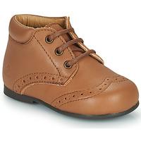 Chaussures Enfant Boots Citrouille et Compagnie PAULO Camel
