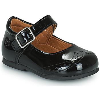 Chaussures Fille Ballerines / babies Citrouille et Compagnie PULLO Vernis noir