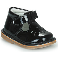 Chaussures Fille Ballerines / babies Citrouille et Compagnie OTAL Noir vernis
