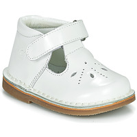 Chaussures Fille Ballerines / babies Citrouille et Compagnie OTAL Blanc vernis
