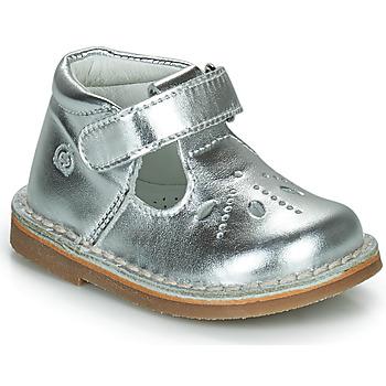 Chaussures Fille Ballerines / babies Citrouille et Compagnie OTAL Argent
